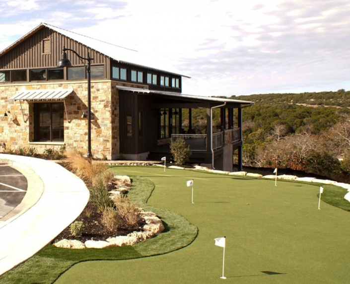 Sweetwater putting green at The Overlook Club