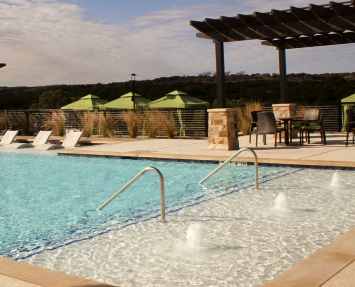 Sweetwater pools at The Overlook Club