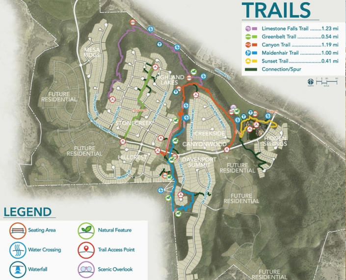 Sweetwater trails map