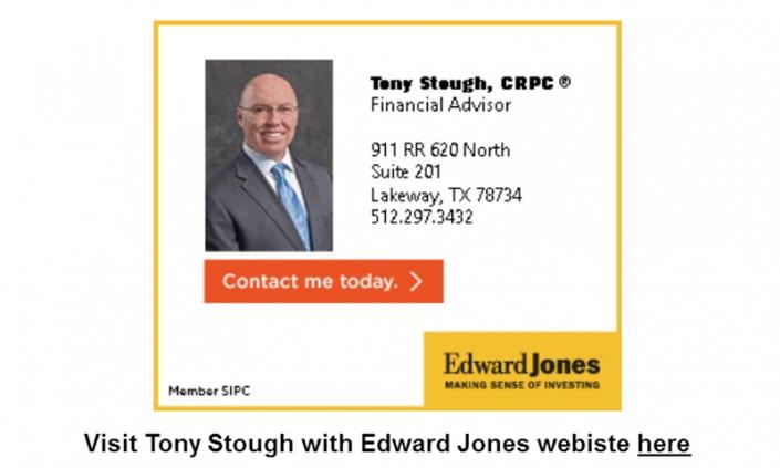 Tony Stough Edward Jones