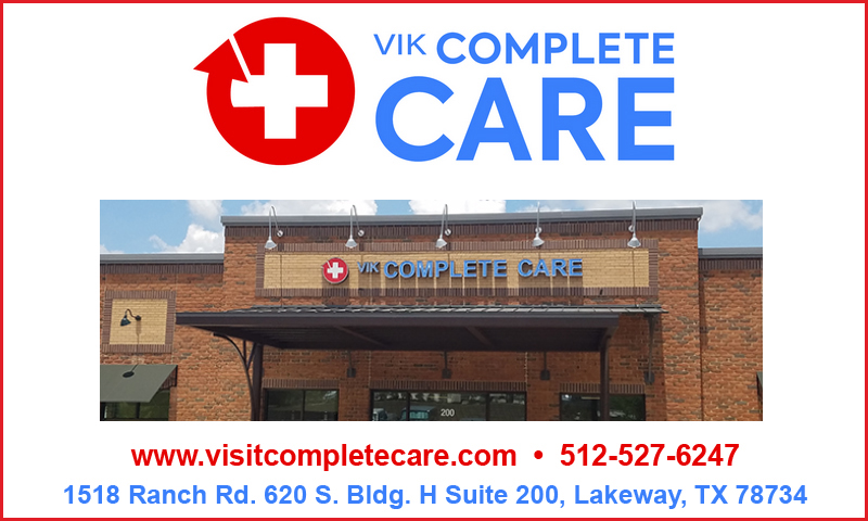 Vic complete care lakeway