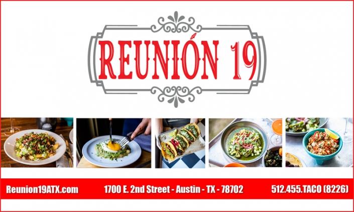 Sponsor Reunion 19 Austin TX