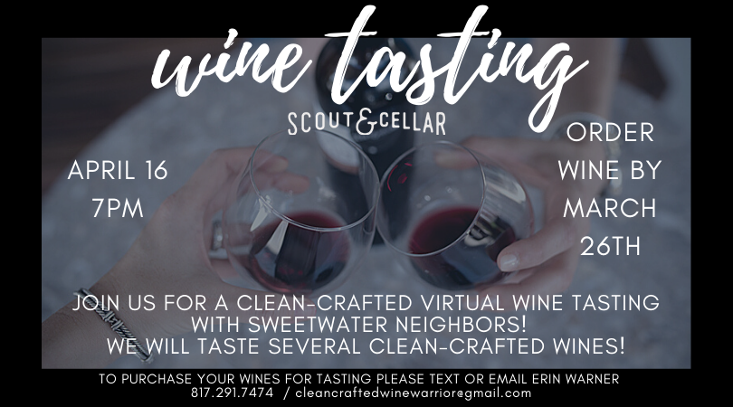 Scout & Cellar Wine Tasting